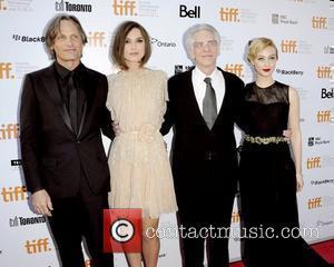 Viggo Mortensen, David Cronenberg, Keira Knightley and Sarah Gadon