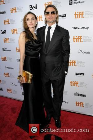 Angelina Jolie and Brad Pitt  36th Annual Toronto International Film Festival - 'Moneyball' - Premiere held at the The...