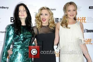 Andrea Riseborough, Abbie Cornish and Madonna