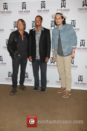 KEITH URBAN, John Mayer and Tiger Woods