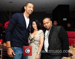 Juwan Howard and Timbaland