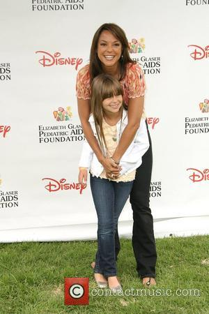 Eva La Rue and Kaya McKenna Callahan 22nd Annual Time for Heroes Celebrity Picnic Sponsored By Disney to Benefit the...