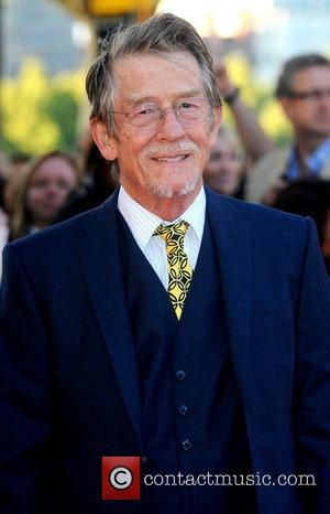 John Hurt,  at the premiere of 'Tinker, Tailor, Soldier, Spy' at BFI Southbank. London, England- 13.09.11