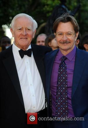 John Le Carre and Gary Oldman