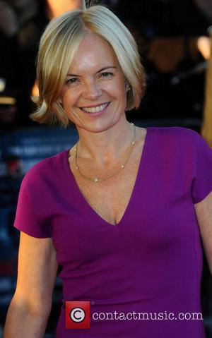 Mariella Frostrup,  at the premiere of 'Tinker, Tailor, Soldier, Spy' at BFI Southbank. London, England- 13.09.11