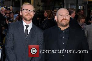 Simon Pegg, Nick Frost and Odeon West End