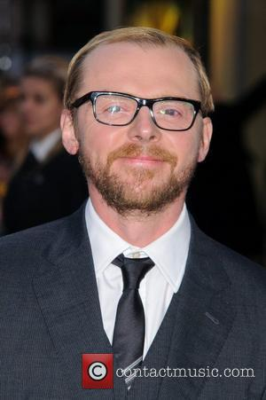 Simon Pegg and Odeon West End