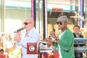 Pitbull Performs At Children's Hospital
