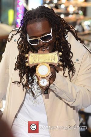 T-Pain performing at the Toyota Concert Series at the 'Today' show in Rockerfeller Center  New York City, USA -...