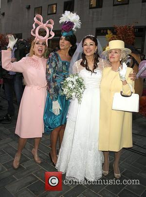 Kathie Lee Gifford, Ann Curry, Hoda Kotb and Meredith Vieira