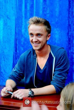 Harry Potter and Tom Felton