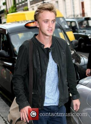 Tom Felton 'Harry Potter' actor outside Claridge's Hotel London, England - 08.07.11