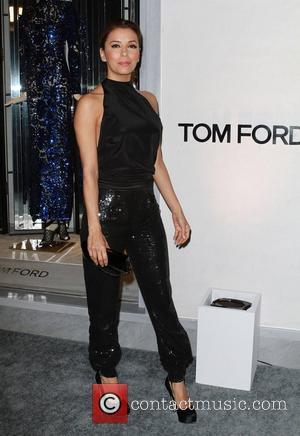 Eva Longoria, Celebration and TOM FORD