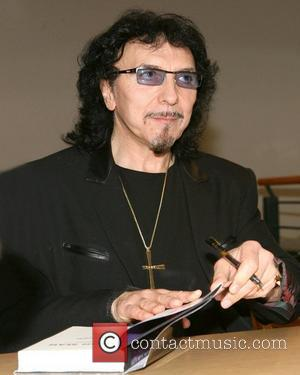 Tony Iommi of Black Sabbath book signing 'Iron Man: My Life with Black Sabbath and Beyond' at the Book Revue...