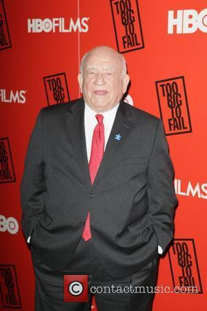 Ed Asner HBO presents the premiere of 'Too Big To Fail' based on the book by Andrew Ross Sorkin at...