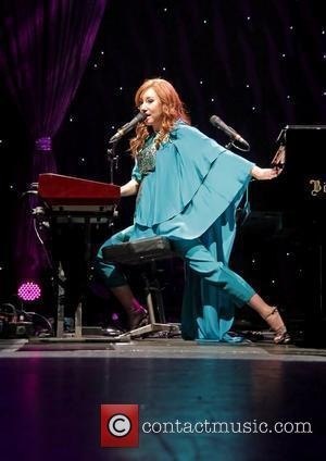 Tori Amos performing live as part her 'Night of Hunters' tour at O2 Manchester Apollo Manchester, England - 04.11.11