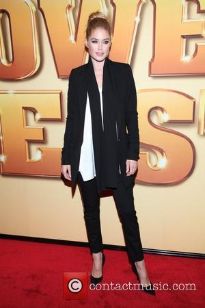 Doutzen Kroes  World premiere of 'Tower Heist' held at the Ziegfeld Theatre - Arrivals New York City, USA -...