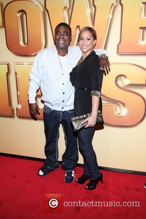 Tracy Morgan and Megan Wollover  World premiere of 'Tower Heist' held at the Ziegfeld Theatre - Arrivals New York...