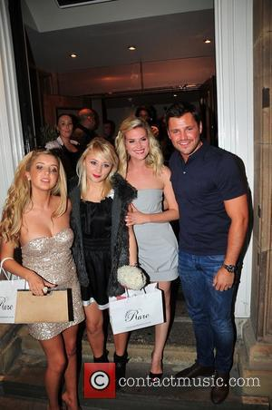 Alice Barlow, Jessica Forrest, Sarah Jayne Dunn and Mark Wright Cast members from The Only Way Is Essex and Hollyoaks...