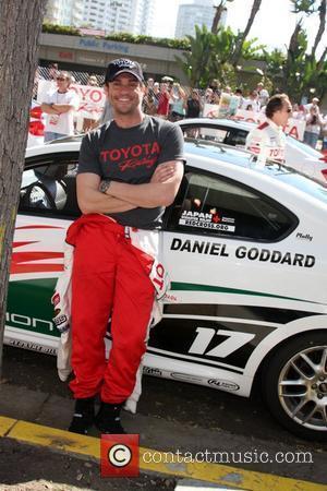 Daniel Goddard The 2011 Toyota Grand Prix Pro Celebrity Race at the Toyota Grand Prix Track in Long Beach Los...