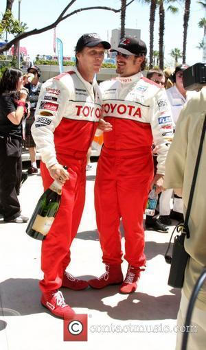 William Fichtner and Kim Coates The 2011 Toyota Grand Prix Pro Celebrity Race at the Toyota Grand Prix Track in...