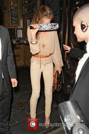 Tara Palmer-Tomkinson. Tara left the Ivy restaurant in high-spirits, before heading to Mahiki. She looked worse for wear when leaving...