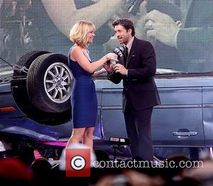 Carrie Keagan and Patrick Dempsey  attends the New York premiere of 'Transformers: Dark of the Moon' at TKS Time...