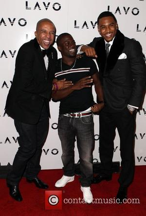 Kevin Liles, Kevin Hart and Trey Songz