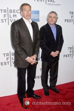 Brian Williams and Robert De Niro