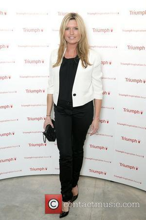 Tina Hobley arriving at the Triumph Inspiration Awards Party, London, England - 31.03.11