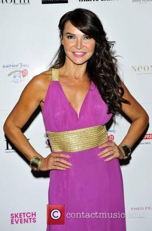 Lizzie Cundy  Trust in Fashion, a charity fashion event for the Rainbow Trust at One Mayfair London, England -...