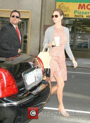 Christy Turlington at the Gayle King show to promote her documentary No Woman, No Cry New York City, USA -...