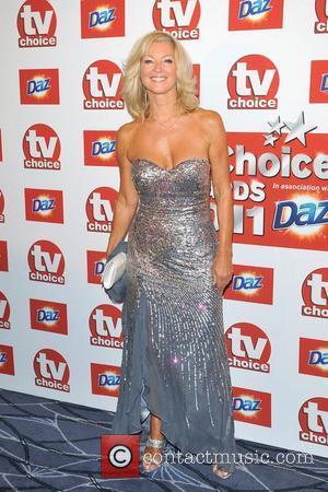 Gillian Taylforth TVChoice Awards held at the Savoy Hotel.  London, England - 13.09.11