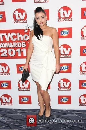 Shona McGarty TVChoice Awards 2011 held at the Savoy hotel London, England - 13.09.11