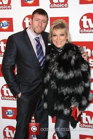 Tina Malone and husband Paul Chase TVChoice Awards 2011 held at the Savoy hotel London, England - 13.09.11