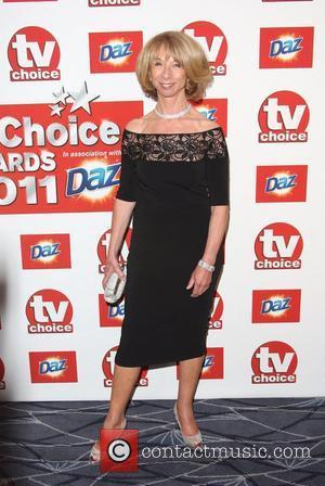Helen Worth TVChoice Awards 2011 held at the Savoy hotel London, England - 13.09.11