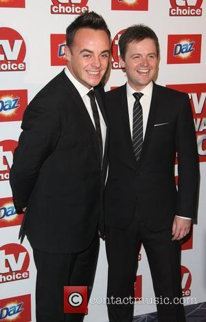 Ant and Dec TVChoice Awards 2011 held at the Savoy hotel London, England - 13.09.11