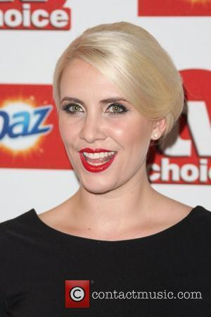 Claire Richards TVChoice Awards 2011 held at the Savoy hotel London, England - 13.09.11