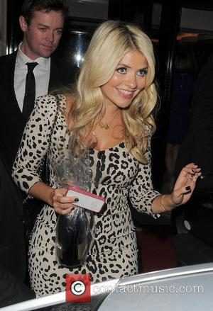 Holly Willoughby TV Choice Awards 2011, held at the Savoy Hotel. London, England - 13.09.11