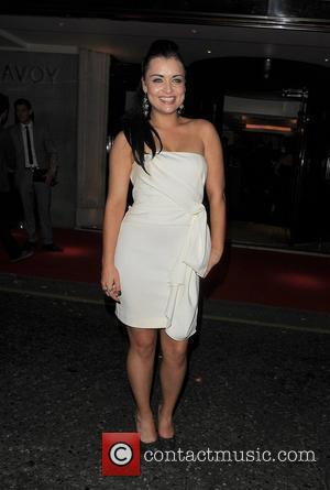 Shona McGarty TV Choice Awards 2011, held at the Savoy Hotel. London, England - 13.09.11