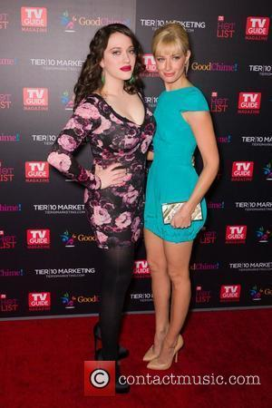 Kat Dennings and Beth Behrs  TV Guide Magazine's Annual Hot List Party at Greystone Mansion Supperclub  Beverly Hills,...
