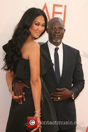 Kimora Lee-Simmons and Djimon Hounsou 2011 TV Land Presents: AFI Life Achievement Award Honoring Morgan Freeman held at Sony Studios...