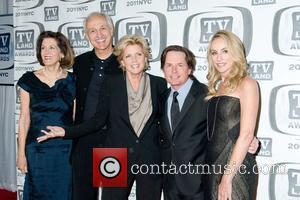 Michael Gross, Meredith Baxter, Michael J Fox and Tracy Pollan
