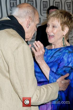 Abe Vigoda and Cloris Leachman