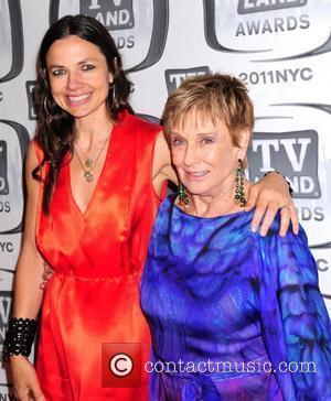 Samantha Harris and Cloris Leachman