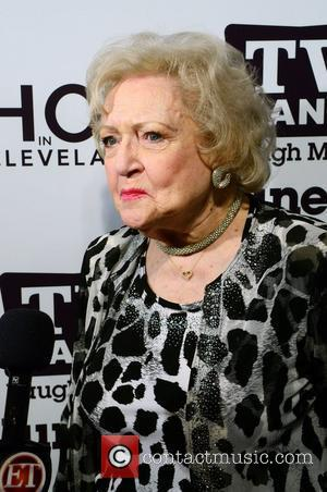 Betty White  at the TV Land 'Hot In Cleveland' and 'Happily Divorced' premiere party at Asellina at the Gansevoort...