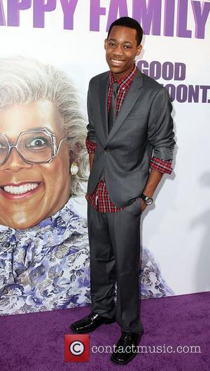 Tyler James Williams Los Angeles Premiere of 'Tyler Perry's Madea's Big Happy Family' held At The Arclight Cinemas Hollywood, California...