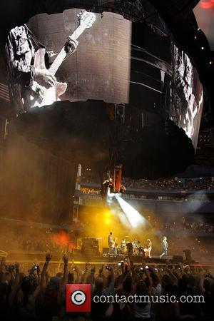 'U2 360 Tour' at the Rogers Centre.  Toronto, Canada - 11.7.11