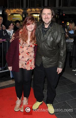 Jonathan Ross and daughter The Umbrellas of Cherbourg - Press night held at the Gielgud Theatre - Arrivals. London, England...