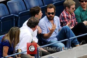 Peter Sarsgaard, Novak Djokovic and Rafael Nadal